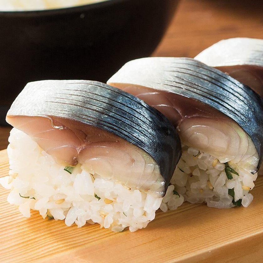 〆鯖のばってら鮨